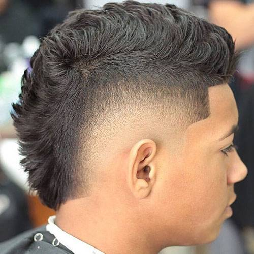 Black Men Faux Hawk Hairstyles Page 1