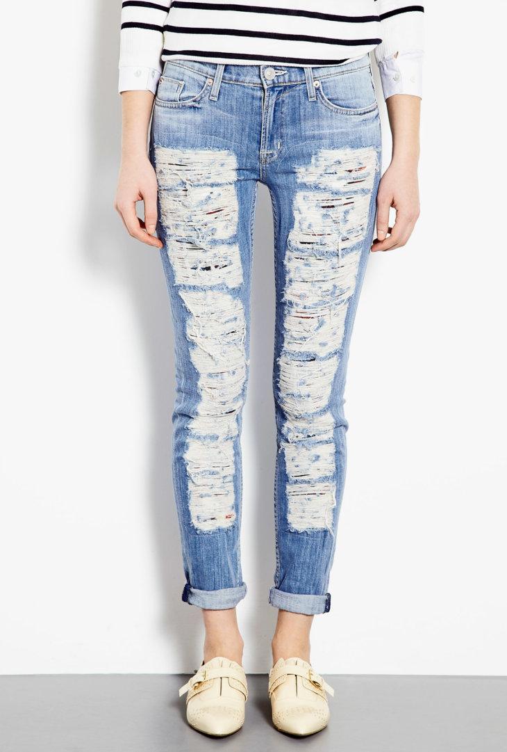 Slitna jeans