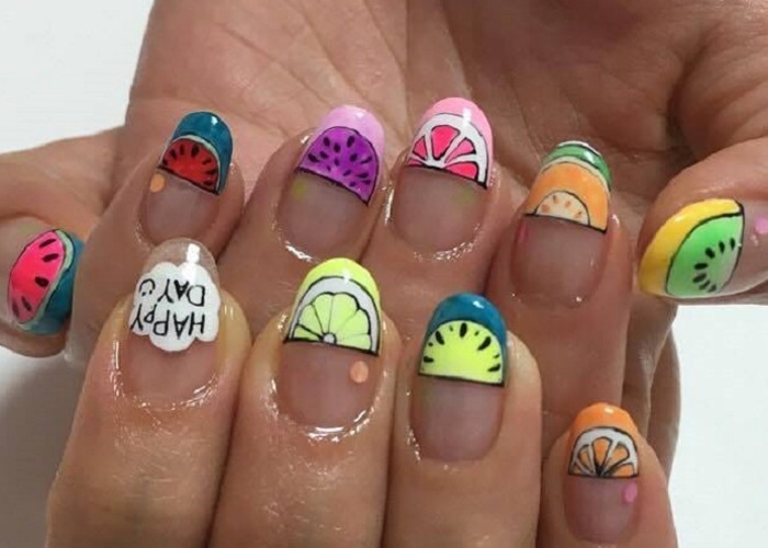 The Fruit-Themed Manicure is the Ultimate Summer Nail Trend