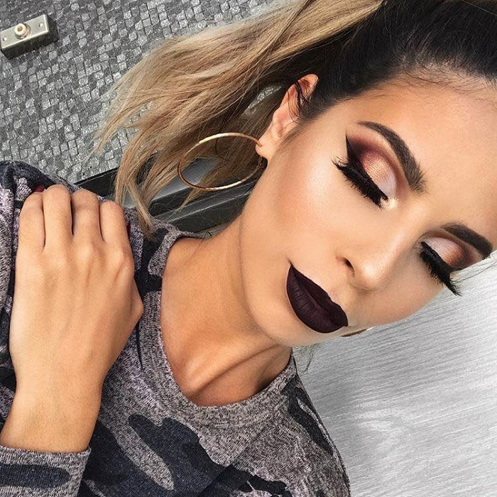 Insane Lipstick Colors Ideal For Party Season dark brown lipstick