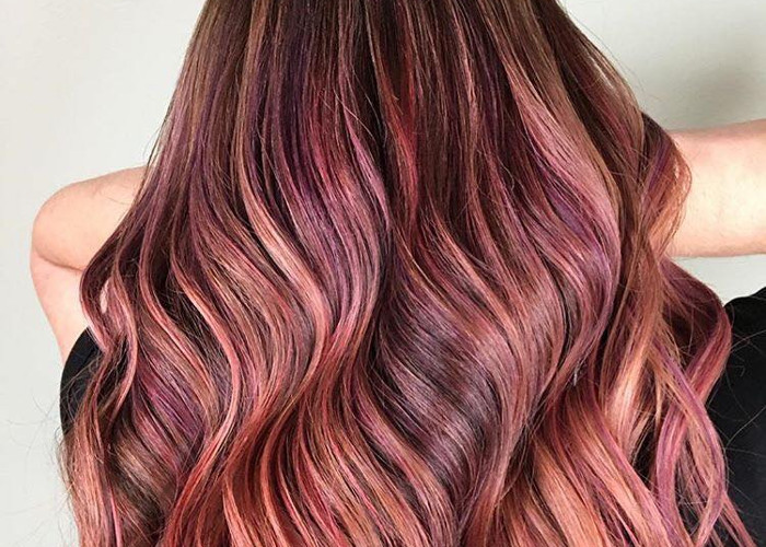 Fruit Juice is The Hottest Spring Hair Color Trend