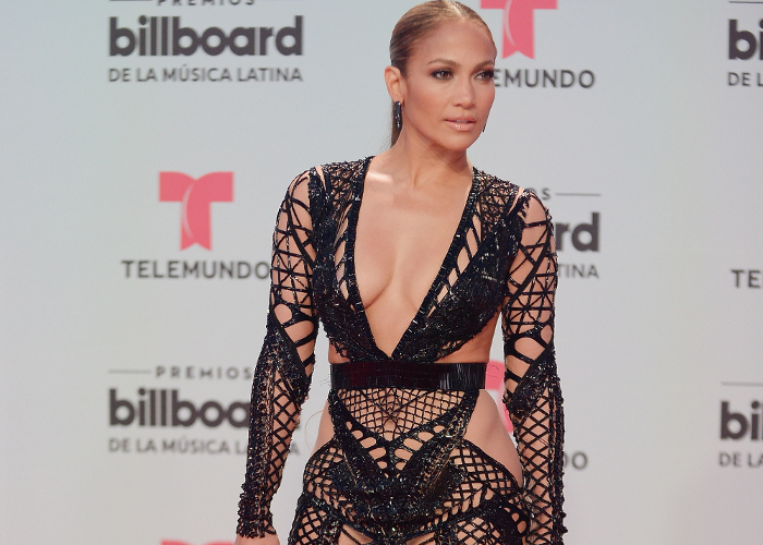 The Sultriest Black Dresses Spotted on Celebrities Jennifer Lopez