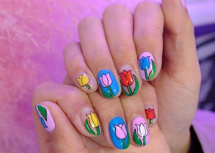 Cute Summer Nail Art to Swoon Over (15)