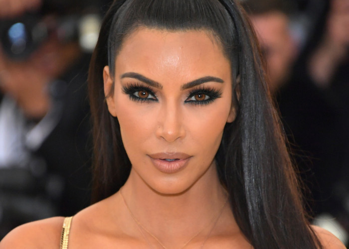 The Best Beauty Looks From The 2018 Met Gala Kim Kardashian