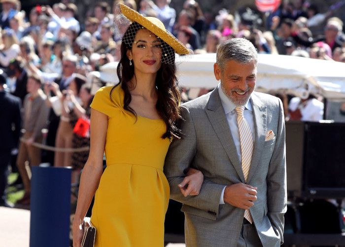 The-Best-Dressed-Guests-at-The-Royal-Wedding-Amal-and-George-Clooney
