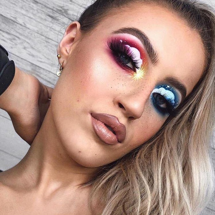 Cloud-Makeup-Is-The-Latest-Insta-Obsession-purple blue clouds