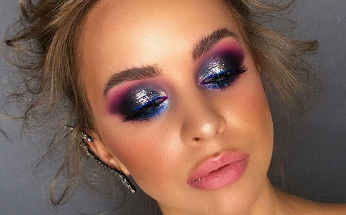 Amp Up Your Holiday Game With These Glitter Makeup Looks