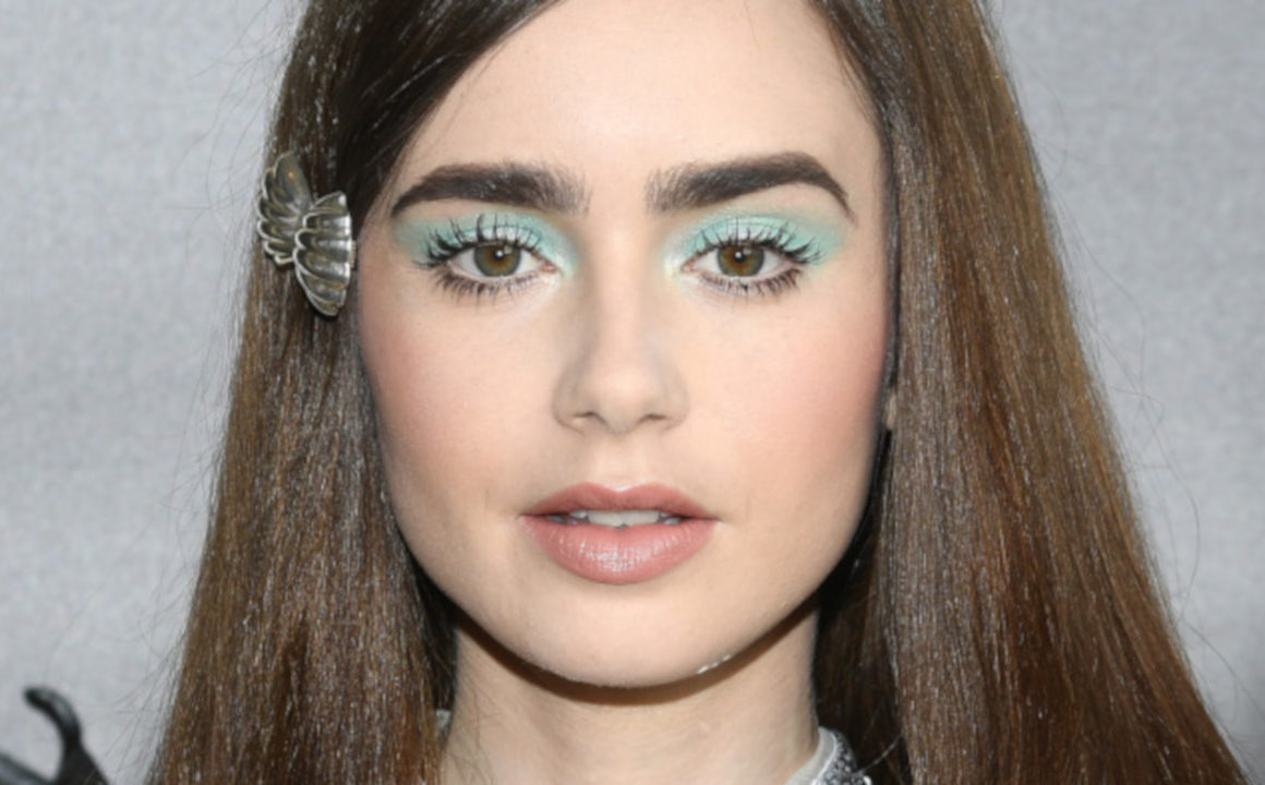 Best-Celebrity-Makeup-Looks-of-2018-To-Use-As-Inspo-Lily-Collins-Miu-Miu