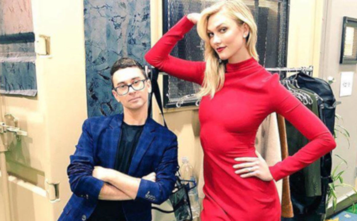 Your-Guide-to-the-New-Project-Runway-Christian Siriano and Karlie Kloss