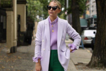 How to Incorporate Lavender Into Your Fall Wardrobe