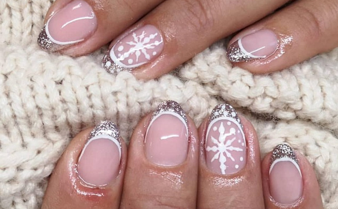 The Trendiest French Manicure Inspo For Winter