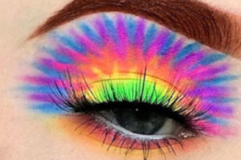 Tie-Dye Makeup is The Latest Instagram Beauty Trend
