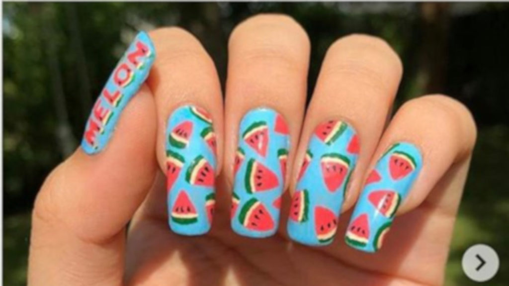 Watermelon Nail Art Is The Hottest Summer Trend 8