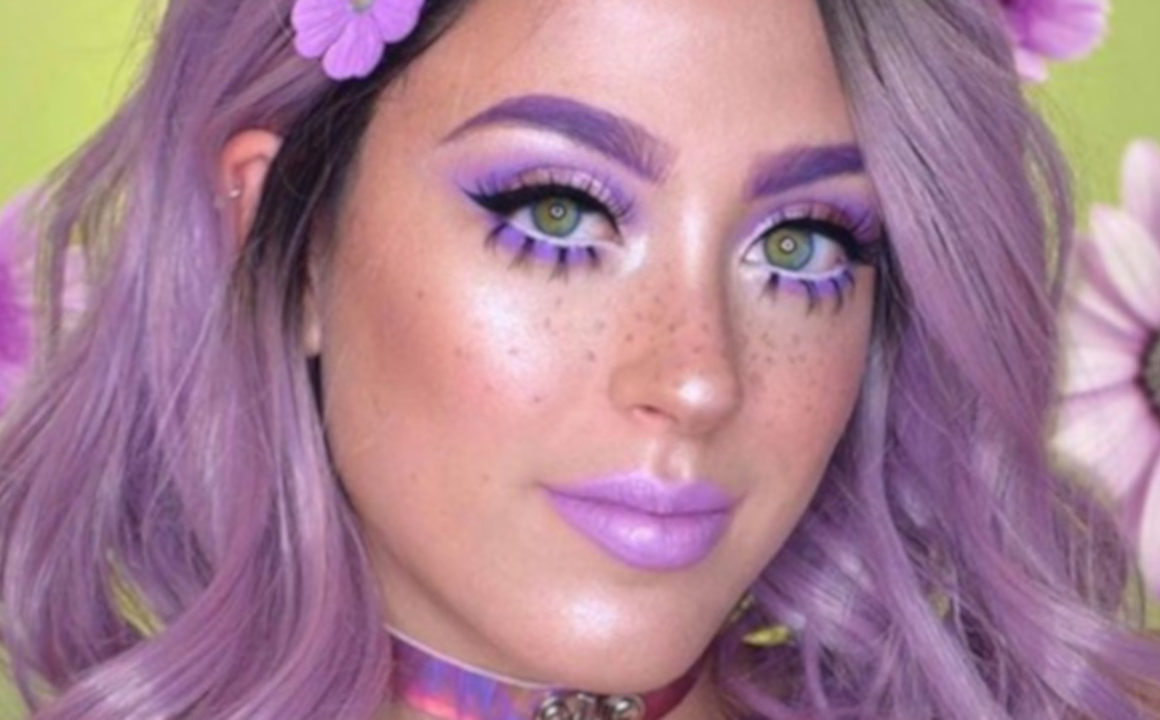 X Oh-So-Pretty Lavender Makeup Looks to Recreate 9