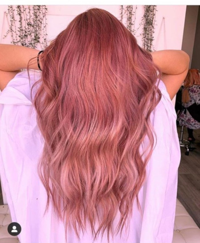 X Stunning rose gold hair ideas for 2019
