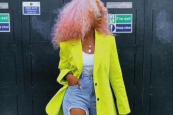 how to wear neon outfits in fall
