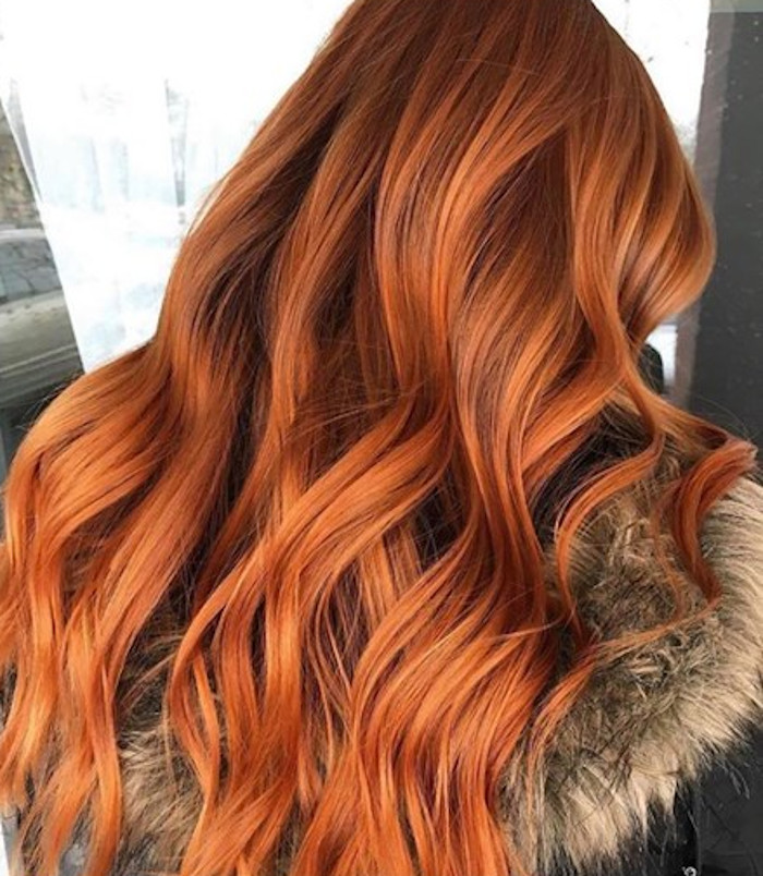 best copper hair colors for winter