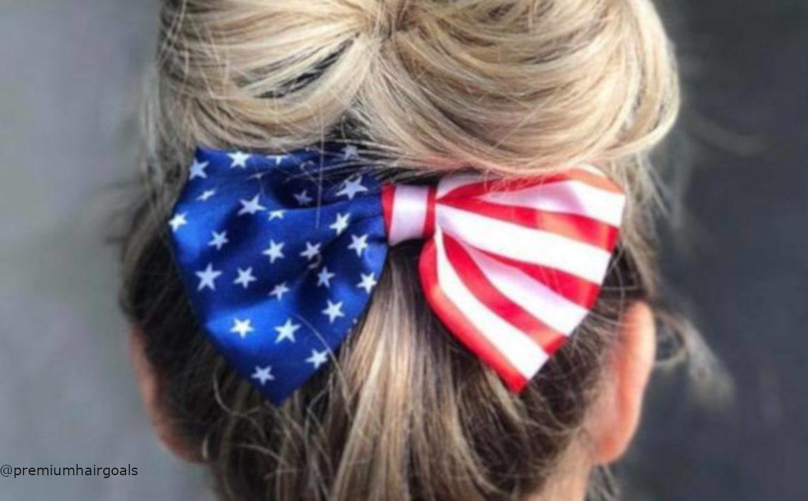 4th Of July Hairstyle Ideas You Could Do At Home
