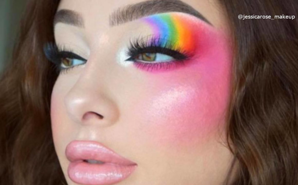 Stunning Rainbow Makeup Looks In Honor Of Pride Month