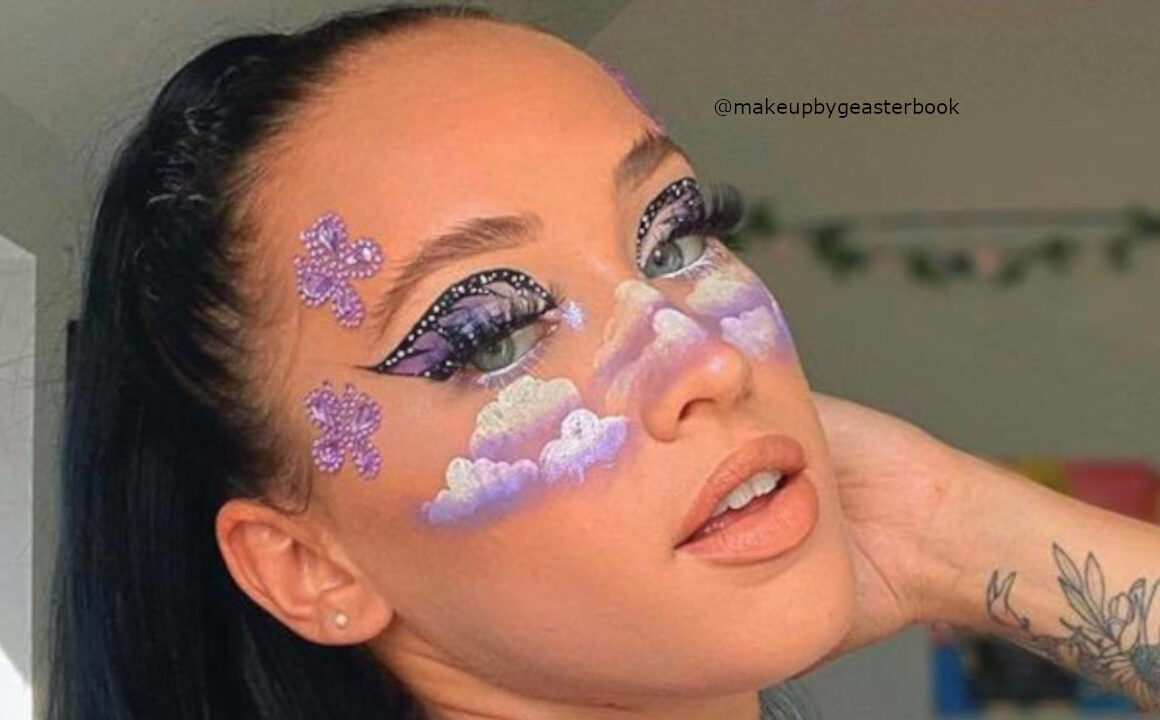 Butterfly Eyeshadow Is The Early Halloween Makeup Trend You'll Love