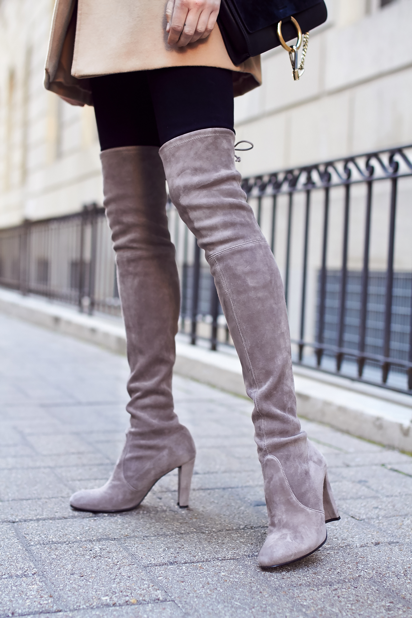 HOW TO WEAR OVER THE KNEE BOOTS | Fashion Jackson