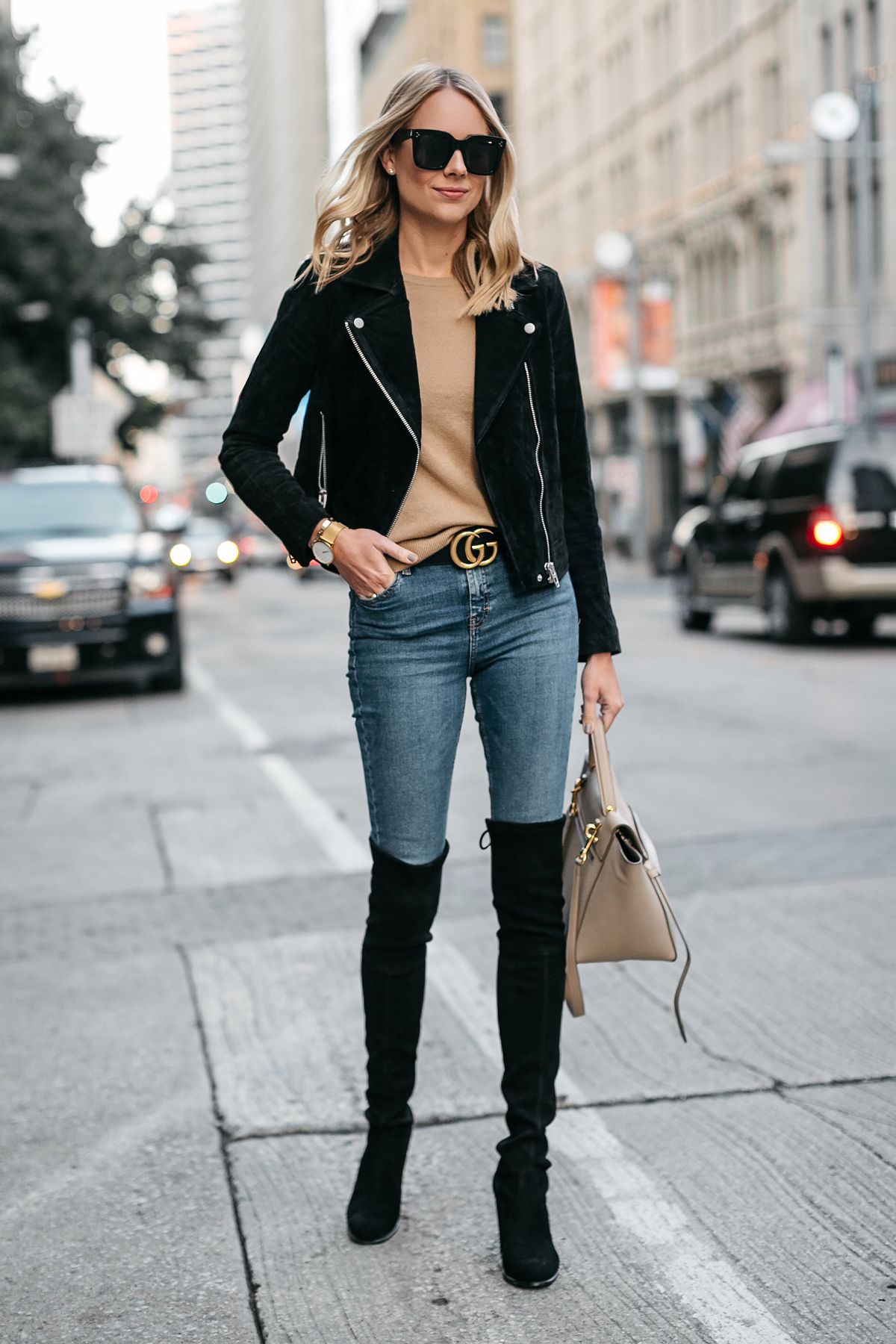 HOW TO WEAR OVER-THE-KNEE BOOTS | Fashion Jackson