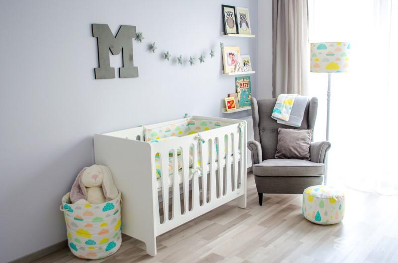 bfe385de63f6c7 Design Moda dziecięca Motyw przewodni w pokoju dziecięcym: Pastelowe chmurki