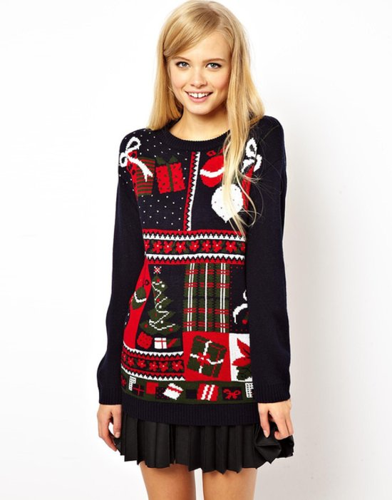 Cute Christmas Sweaters - fashionsy.com