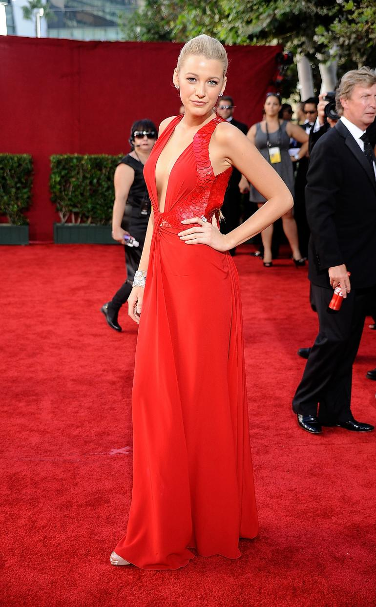 Blake Lively Best Red Carpet Looks Fashionsy Com
