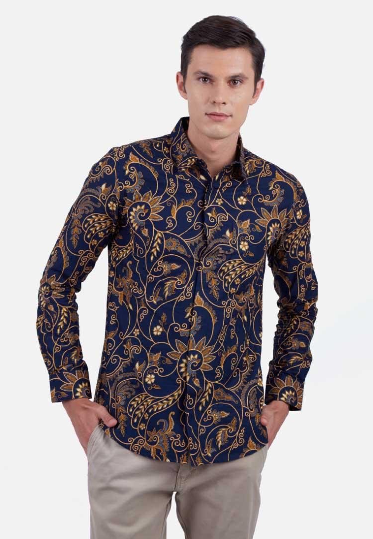 30 Gambar Model  Baju Batik  Cowok  Modern Fashion Modern