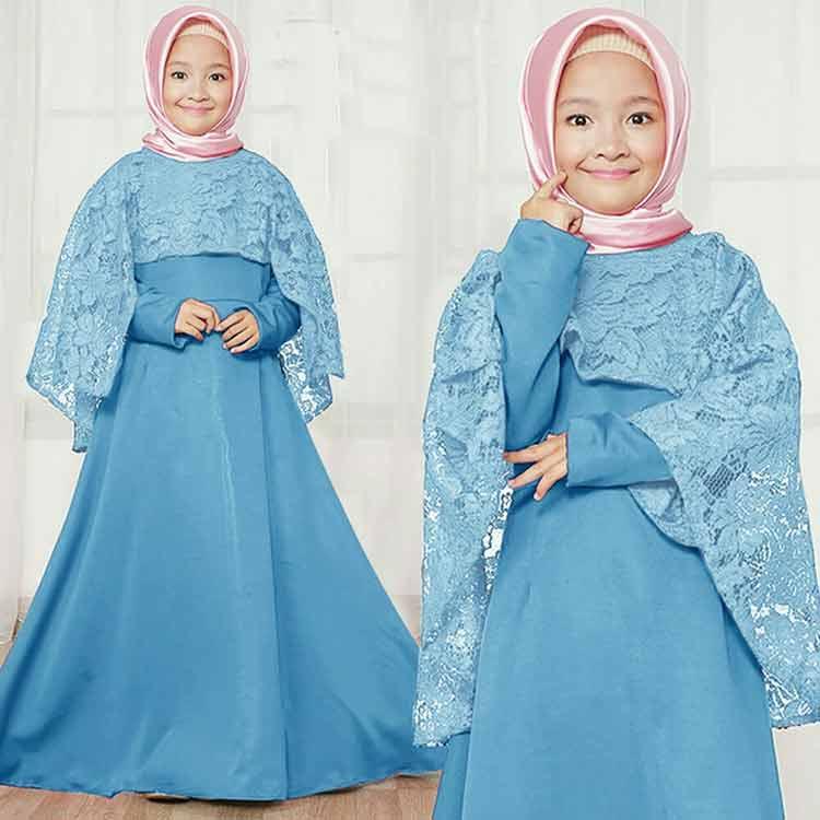 30+ Model Baju Gamis Anak Perempuan Umur 12 Tahun ...