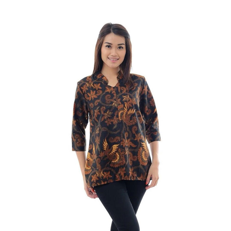 Referensi Model Batik Kerja: 30+ Model Baju Batik Atasan Kerja Guru
