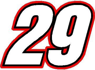 29 RACE NUMBER SWITZERLAND INSERANT FONT DECAL / STICKER 3 ...