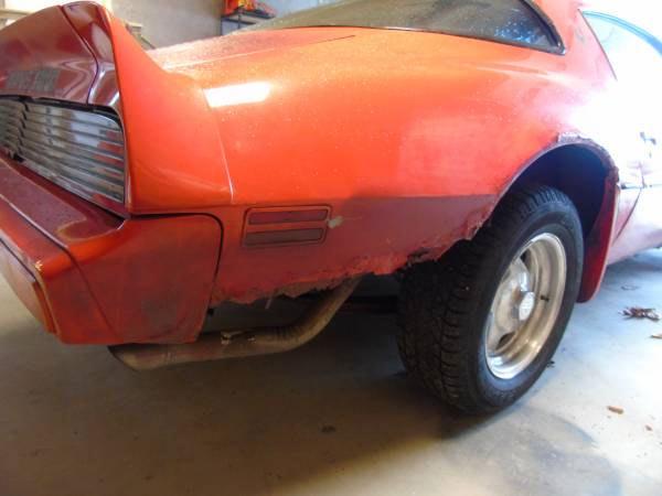 1979 Camaro Trunk Floor Pan
