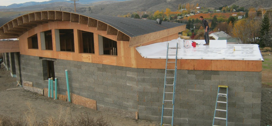 Building Raised Garden Cinder Blocks