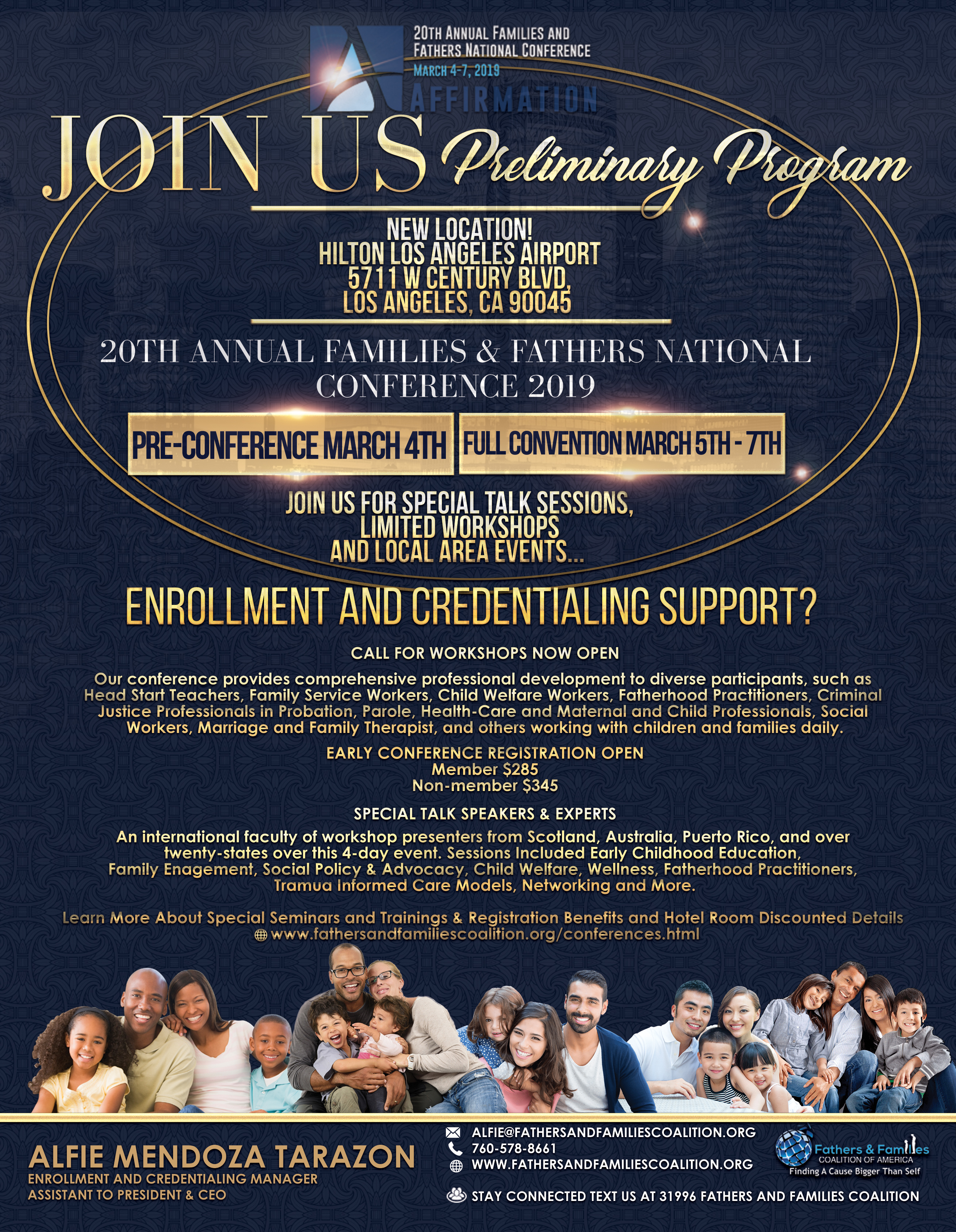20th Annual Families and Fathers Conference - FFCA