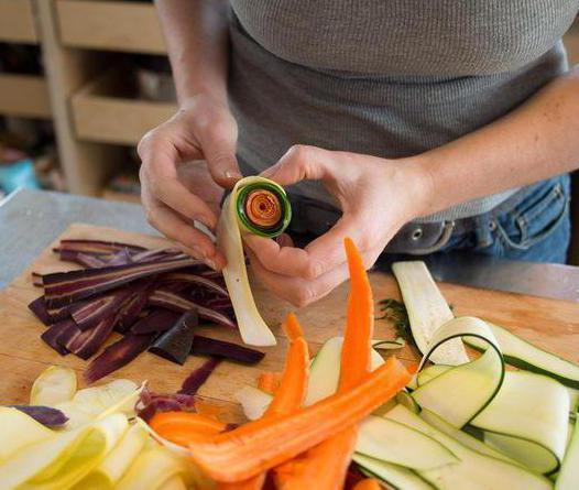 нарезать морковь тонкой соломкой