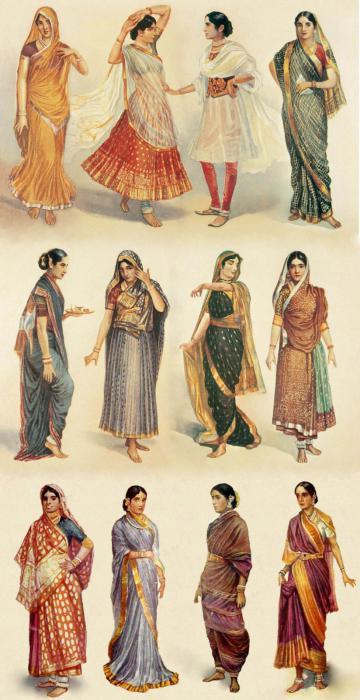 Ảnh Ấn Độ Sari.