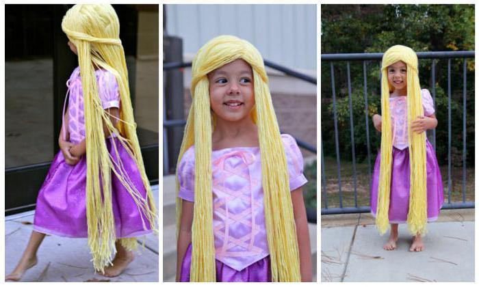 Nytårs kostume rapunzel