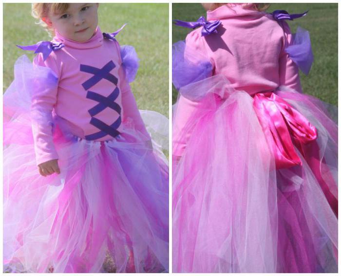 Rapunzel-puku tytölle