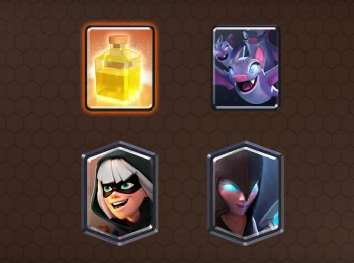 Legeraneller i Clash Royale