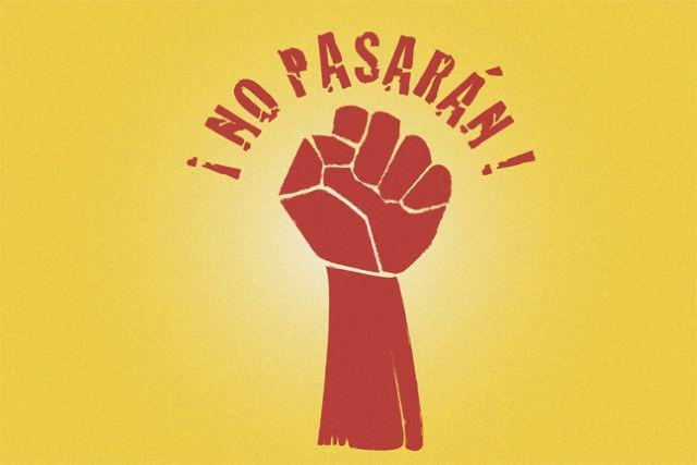 "What does ""but Pasaran"" mean"