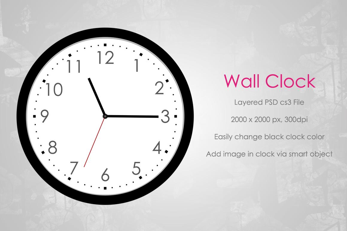 Clock Typography Examples