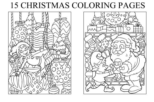 chrismas coloring pages # 47