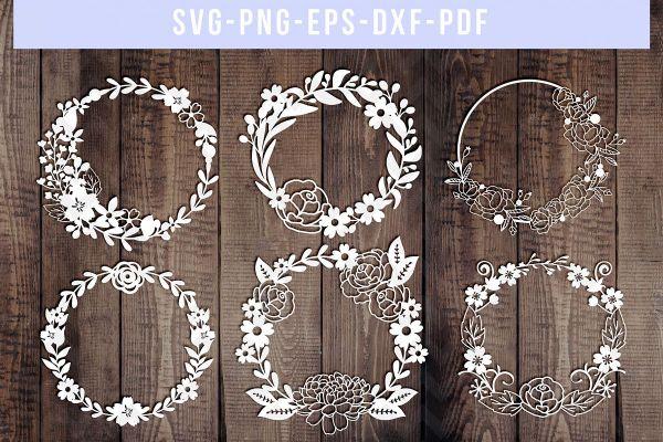 wreath template pdf # 73