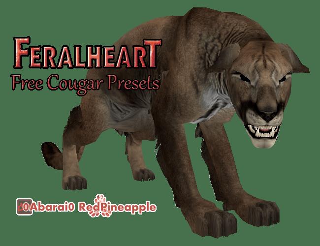 FeralHeart :: April 20 - COUGAR by 0Abarai0 on DeviantArt