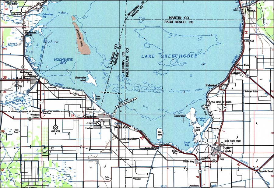 Chart Indian River Florida