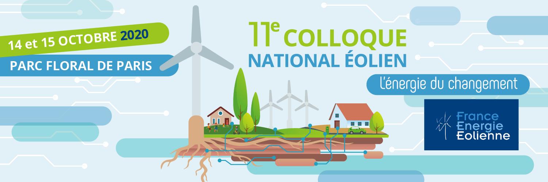 11e Colloque National Éolien @ Parc floral de Paris