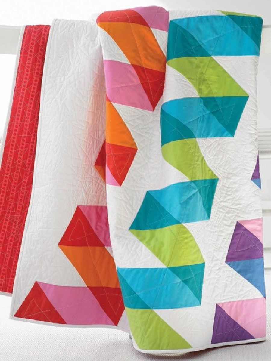 Woven Ribbons Quilt Pattern