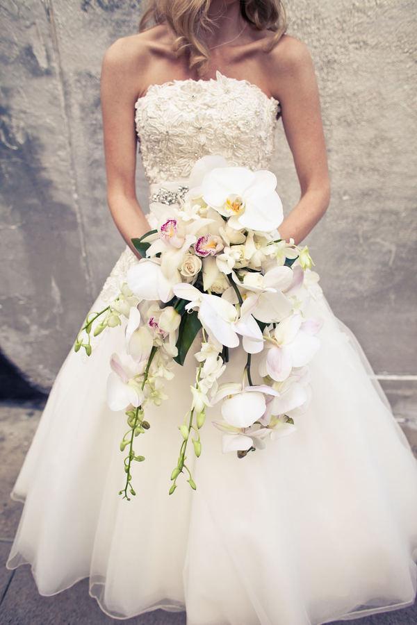 Bridal Unique Bouquets Cascade
